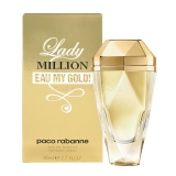 Paco Rabanne Lady Million Eau My Gold! 80ml edt фото