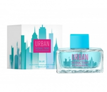 Туалетная вода Antonio Banderas Urban Blue Seduction For Women 100 ml фото