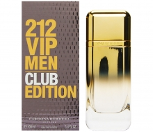 Carolina Herrera 212 VIP Men Club Edition edt 100ml фото