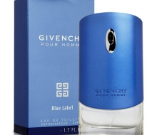 "Givenchy ""Pour Homme Blue Label"" для мужчин 80 мл фото"