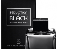 Antonio Banderas Seduction In Black, 100 ml фото