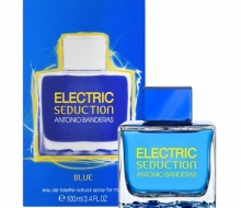 Antonio Banderas Electric seduction Blue фото