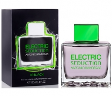A.Banderas Electric Seduction In Black 100ml edt фото