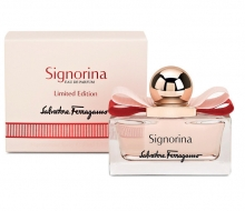 SALVATORE FERRAGAMO SIGNORIA Leather Edition 100ml фото