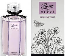 Gucci Flora by Gucci Generous Violet100ml фото