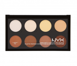 Палетка NYX HIGHLIGHT & CONTOUR PRO PALETTE, 8 оттенков фото