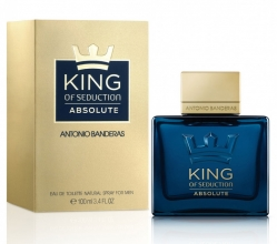 Туалетная вода Antonio Banderas King of Seduction Absolute edt 100ml фото