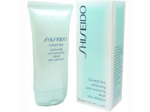 Shiseido Green Tea - пилинг для лица, 60ml фото